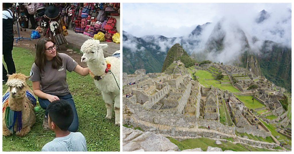 Living the digital nomad life in Peru; Machu Picchu and alpacas