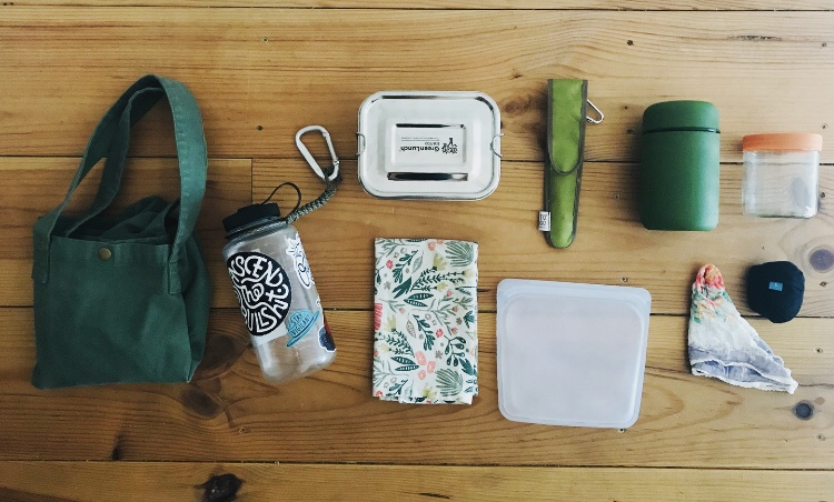 Low waste on-the-go kit_Writing From Nowhere