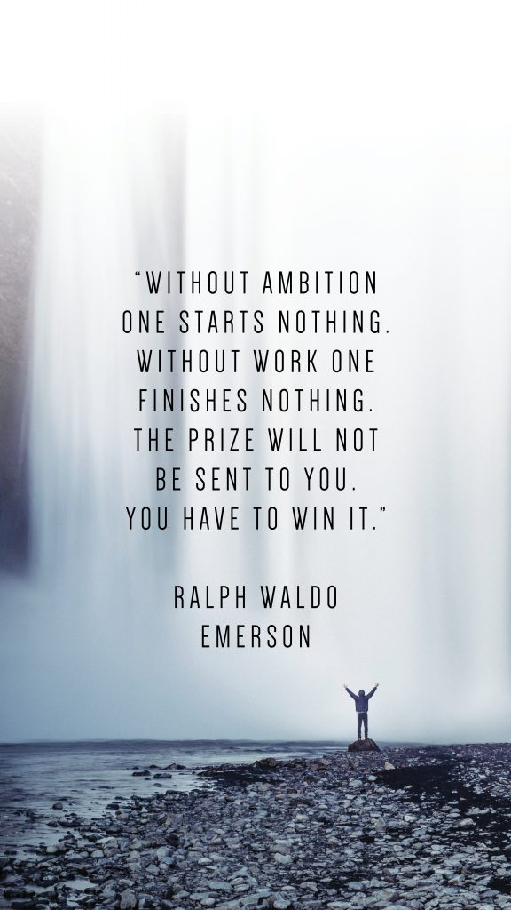 RALPH WALDO EMERSON QUOTE_PHONE WALLPAPERS TO INSPIRE_Writing From Nowhere