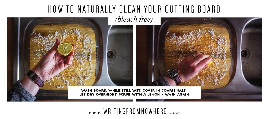 spring cleaning low waste_Writing From Nowhere