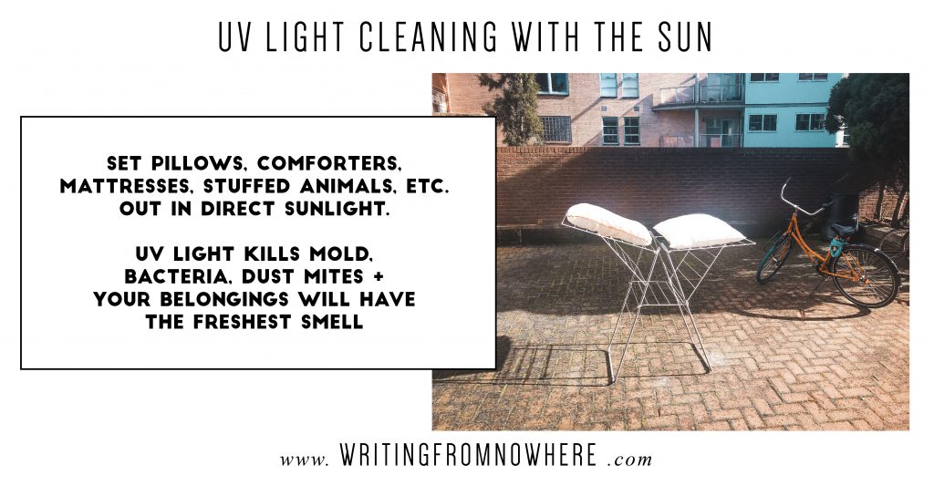 spring cleaning low-waste_Writing From Nowhere