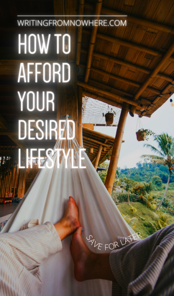 person in a hammock overlooking a jungle valley